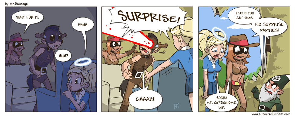 136- Surprises